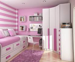 Striped Bedroom Paint Bedroom Striped Pink And White Wall Paint Color White Cupboard