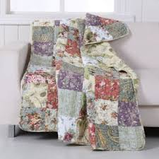 Quilted Throw Blankets For Less | Overstock.com & Greenland Home Fashions Blooming Prairie Throw Adamdwight.com