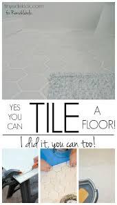 Best  Installing Tile Floor Ideas On Pinterest - Installing bathroom tile floor