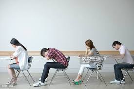 student sitting at desk side view. Plain Sitting Students Sitting At Desk Side View Throughout Student Sitting At Desk Side View L