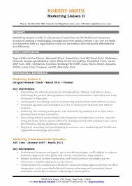 Sample Healthcare Marketing Resume Marketing Liaison Resume Samples Qwikresume