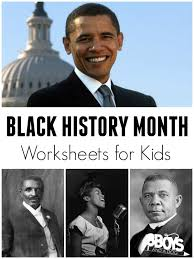 Black History Month Worksheets - 3 Boys and a Dog – 3 Boys and a Dog