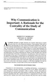 why communication is important