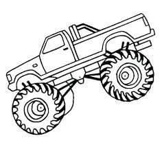 Free Truck Coloring Pages Monster Trucks Cartoon Online Seaahco