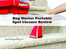 rug doctor portable spot cleaner quick easy clean up with