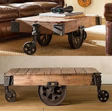 restoration hardware table. Reclaimed Factory Cart Table From Restoration Hardware