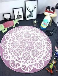 round fl rug modern pattern rugs nursery target