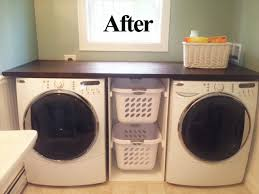countertop washer dryer.  Washer The Countertop Is A Hollow Core Door Door Slabs Are Very Inexpensive  30 And Can Be Stained Or Painted To Your Liking On Countertop Washer Dryer E
