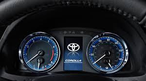 2017 Toyota Corolla Dashboard Warning Lights The 2017 Toyota Corolla Is Back For Its 50th Anniversary
