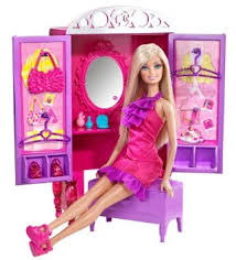 games splay barbie dress up to make up closet and barbie doll set