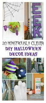 diy halloween decorations home. 20 Monstrously Clever DIY Halloween Decor Ideas To Spruce Up Your Home For This Most Awesome Diy Decorations C