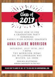 Graduation Lunch Invitation Wording Graduation Brunch Invitation Coral And Turquoise Invitation