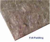 carpet padding. carpet padding types - carpetprofessor.com
