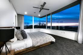 bedroom gl walls views