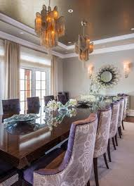 nailhead dining chairs dining room. Nailhead Dining Room Chairs Contemporary With Wall Sconces Tray Ceiling O