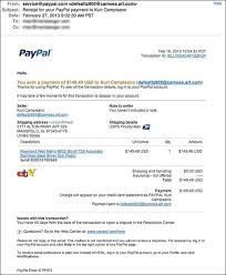 Eclectic Paypal An Scam Mind Receipt Watch