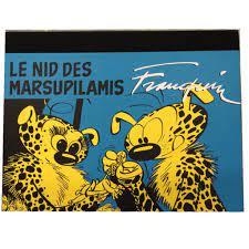 Box set & portfolios - ''The Marsupilami Nest'' portfolio by Champaka