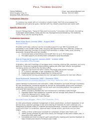 Retail Manager Resume And Opera Ukashturka