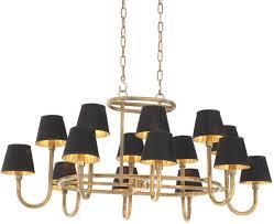 Casa Padrino Luxury Chandelier Vintage Brass Black 1205 X 905 X H 57 Cm Luxury Furniture