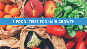 food items for hair growth cal darpan