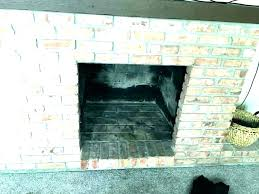 fireplace brick cleaner