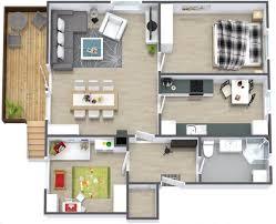 3 bedroom home design plans. Fine Home Extraordinary Simple Home Design Plans 7 Two Bedroom House Plan Interior  Ideas 335404  Office Fancy  Inside 3