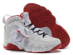 jordan shoes 34. nike air jordan 9 shoes men\u0027s white red 34