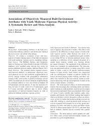 (PDF) Associations of Objectively Measured Built-Environment ...