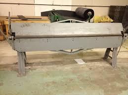 used sheet metal brake. used chicago 8\u0027 x 16 gauge sheet metal brake used sheet metal brake d