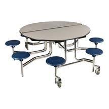Configure your lunch room any way youd like with the Mobile Stool