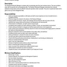 astounding restaurant manager resume samples the crucible essays   restaurant manager resume samples