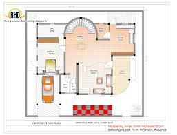 duplex house plan and elevation 3122 sq ft indian home decor