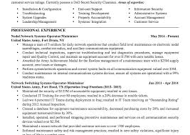 Veteran Resume Template Military Civilian Resume Rare To Combination Examples Logistics 32
