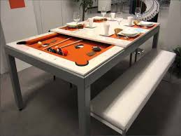 Pool table that is a dining table 7ft Pool Dining Table Gray Robertson Billiards Pool Dining Table Gray Ugarelay Pool Dining Table Convertible Ideas