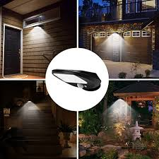 superb exterior house lights 4. Solar Lights Outdoor, EMIUP Super Bright 30 LED Motion Sensor Security Lights, Waterproof Wireless For Driveway Garden Wall Deck Yard Patio Stairway Superb Exterior House 4 L