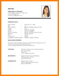 format of job resume resume for job application example of job application cv pdf cv