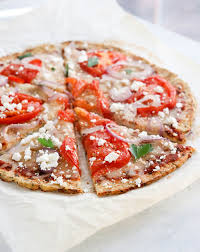 Image result for pizza with cauliflower crust