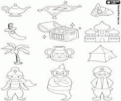 Kleurplaten Aladin En De Wonderlamp Kleurplaat