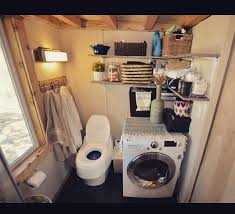 tiny house washer dryer combo. Contemporary House Tiny House Bathroom With Washerdryer Combo On Washer Dryer Combo