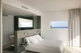 modern bedroom with bathroom.  Bedroom With Modern Bedroom Bathroom M