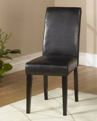 armen living brown leather side chair md 014