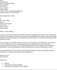 x ray tech cover letter cover letter templates tech cover letter
