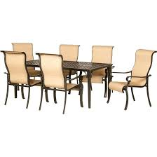 patio dining sets manor aluminum piece round patio dining set outdoor chairs with cushions metal
