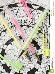 coloring book new stress relieving trend art therapy mental health creativity