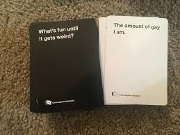 cards against humanity winning move