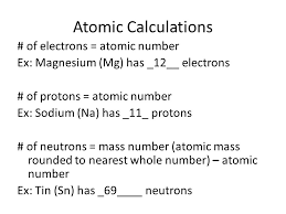 The Atom & the Periodic Table - ppt download