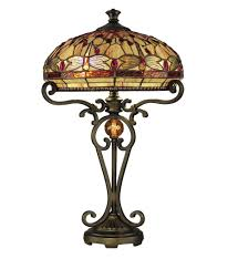 dale tiffany tt10095 dragonfly table lamp