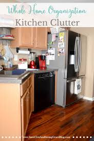 Kitchen Counter Organization Whole Home Organization Kitchen Clutter Sweet Tea Saving Grace