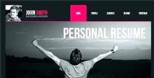Resume Website Examples Noxdefense Com