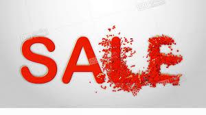 Sale Text Sale Banner Template Design Shine Backdrop For Flyer